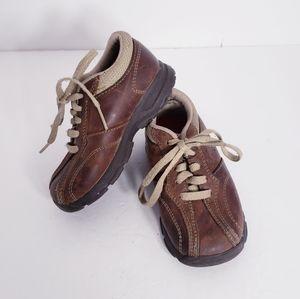 MUNCKIN Brown Leather Shoes Toddler Boy's 7 1/2